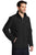 J336 Port Authority® Back-Block Soft Shell Jacket - BLACK