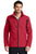 J336 Port Authority® Back-Block Soft Shell Jacket - RICH RED