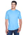 8420 UltraClub Men's Cool & Dry Sport Performance Interlock - COLUMBIA BLUE