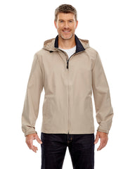 88083 Ash City - North End Men's Techno Lite Jacket - PUTTY