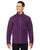 88172 Ash City - North End Men's Voyage Fleece Jacket - PURPLE