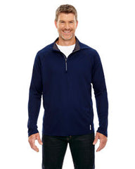 88187 North End Radar Men's Half-Zip Performance Long Sleeve Top - LogoShirtsWholesale                                                                                                       - 1