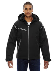Ash City - North End Sport Red Men's Ventilate Seam-Sealed Insulated Jacket - BLACK