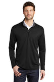 K584 Port Authority ® Silk Touch ™ Performance 1/4-Zip - Black