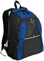 Port & Company® Improved Contrast Honeycomb Backpack. BG1020 - LogoShirtsWholesale                                                                                                       - 1