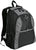 Port & Company® Improved Contrast Honeycomb Backpack. BG1020 - LogoShirtsWholesale                                                                                                       - 2