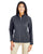 CE708W Ash City - Core 365 Ladies' Techno Lite Three-Layer Knit Tech-Shell- CARBON