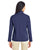 CE708W Ash City - Core 365 Ladies' Techno Lite Three-Layer Knit Tech-Shell - NAVY