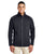 CE708 Ash City - Core 365 Men's Techno Lite Three-Layer Knit Tech-Shell - BLACK
