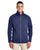 CE708 Ash City - Core 365 Men's Techno Lite Three-Layer Knit Tech-Shell - NAVY