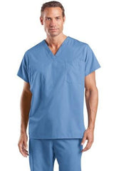 CornerStone® - Reversible V-Neck Scrub Top. CS501 - LogoShirtsWholesale                                                                                                       - 1