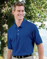 Devon & Jones D100 Pima Pique Polo - LogoShirtsWholesale                                                                                                       - 1