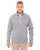 DG792 Devon & Jones Adult Bristol Sweater Fleece - GREY HEATHER