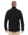 DG792 Devon & Jones Adult Bristol Sweater Fleece - BLACK