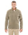 DG792 Devon & Jones Adult Bristol Sweater Fleece - KHAKI