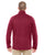 DG792 Devon & Jones Adult Bristol Sweater Fleece - RED