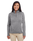 DG798W Devon & Jones Ladies' Newbury Mélange Fleece - GREY