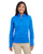DG798W Devon & Jones Ladies' Newbury Mélange Fleece - FRENCH BLUE