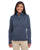 DG798W Devon & Jones Ladies' Newbury Mélange Fleece - NAVY