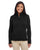 DG798W Devon & Jones Ladies' Newbury Mélange Fleece - BLACK