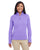 DG798W Devon & Jones Ladies' Newbury Mélange Fleece - GRAPE