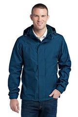 Eddie Bauer® - Rain Jacket. EB550 - Deep Sea Blue