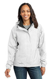Eddie Bauer® - Ladies Rain Jacket. EB551 - White