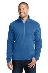 Port Authority® Microfleece 1/2-Zip Pullover. F224 - LogoShirtsWholesale                                                                                                       - 1
