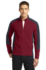 Port Authority® Colorblock Microfleece Jacket. F230 - LogoShirtsWholesale                                                                                                       - 1