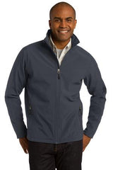 Port Authority® Tall Core Soft Shell Jacket. TLJ317 - Battleship Grey