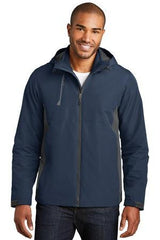 Port Authority® Merge 3-in-1 Jacket. J338 - Dress Blue Navy/ Grey Steel