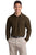 K500LS Port Authority Silk Touch Long Sleeve Pique - LogoShirtsWholesale                                                                                                       - 2