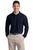 K500LS Port Authority Silk Touch Long Sleeve Pique - LogoShirtsWholesale                                                                                                       - 1