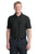 Port Authority® Horizontal Texture Polo. K514 - BLACK
