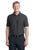 Port Authority® Horizontal Texture Polo. K514 - GREY SMOKE