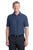 Port Authority® Horizontal Texture Polo. K514 - REGATTA BLUE