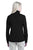 Port Authority® Ladies Pique Fleece Jacket. L222 - BLACK