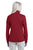 Port Authority® Ladies Pique Fleece Jacket. L222 - GARNET RED
