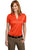 Port Authority® Ladies Performance Fine Jacquard Polo. L528 - LogoShirtsWholesale                                                                                                       - 3