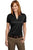 Port Authority® Ladies Performance Fine Jacquard Polo. L528 - LogoShirtsWholesale                                                                                                       - 4