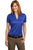 Port Authority® Ladies Performance Fine Jacquard Polo. L528 - LogoShirtsWholesale                                                                                                       - 5