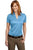 Port Authority® Ladies Performance Fine Jacquard Polo. L528 - LogoShirtsWholesale                                                                                                       - 1