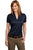 Port Authority® Ladies Performance Fine Jacquard Polo. L528 - LogoShirtsWholesale                                                                                                       - 7