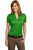 Port Authority® Ladies Performance Fine Jacquard Polo. L528 - LogoShirtsWholesale                                                                                                       - 8