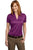 Port Authority® Ladies Performance Fine Jacquard Polo. L528 - LogoShirtsWholesale                                                                                                       - 9