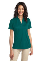 Port Authority® Ladies Silk Touch™ Performance Polo. L540. - LogoShirtsWholesale                                                                                                       - 1
