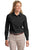 L608 Port Authority® - Ladies Long Sleeve Easy Care Shirt. - LogoShirtsWholesale                                                                                                       - 3