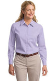 L608 Port Authority® - Ladies Long Sleeve Easy Care Shirt. - LogoShirtsWholesale                                                                                                       - 1