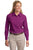 L608 Port Authority® - Ladies Long Sleeve Easy Care Shirt. - LogoShirtsWholesale                                                                                                       - 10