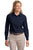 L608 Port Authority® - Ladies Long Sleeve Easy Care Shirt. - LogoShirtsWholesale                                                                                                       - 17